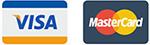 Принимаем электронные карты VISA и Master Card